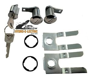 Highest Quality NEW 1966-1977 Ford Bronco Door & Ignition Lock Set- OE Ford keys
