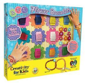 Creativity For Kids - Friendship Flower Bracelets Arts And Crafts