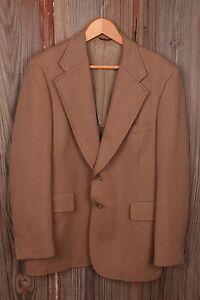 Hart Schaffner & Marx 42L Cinnamon Blazer Sport Coat Jacket Men's Dress Button