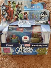 New Marvel Minimates Avengers Initiative Vision/Abomination 2-Pack  Exclusive