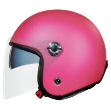 Casques jet roses moto pour véhicule
