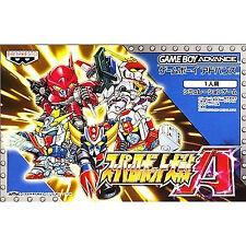Super Robot Wars A Gameboy Advan GBA Japan Taisen