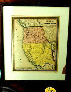 Rare Oregon and Upper California. S. Augustus Mitchell, N.E. Philadelphia 1846