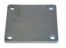 Fence Plate 150x150x8 mm 4 H