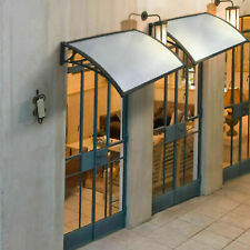 More details for outdoor door canopy awning shelter front back porch shade patio roof rain cover