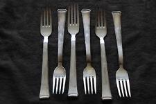 WMF 2500 Bauhaus Besteck 6 Stück Gabel Menügabel Speisegabel Silber90 versilbert
