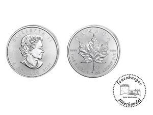 Kanada 5 Dollars 2021 Maple Leaf 1 oz 999 Silber / AG
