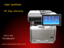 Ricoh Mp 402spf Blackwhite Copier Printer Scanner Low Meter Count