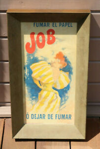 Spanish Belle Epoque Cigarette Rolling Papers Poster JOB Jules Cheret Framed