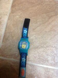 2004 Viscom Nickelodeon SpongeBob Square Pants Wristband watch