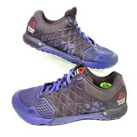 Reebok Crossfit Nano 4.0 CF74 Women 7 Athletic Shoes Sneaker Purple Train M43441