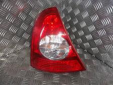 2004 RENAULT CLIO MK2 HATCH 3DR NS PASSENGER LEFT REAR TAIL LIGHT 8200071413