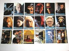 2000 X-MEN MOVIE 72 BASE CARD SET WOLVERINE STORM! MARVEL COMICS TOPPS!