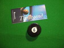 "Aramith billard 2 ""Black 8 pool balle"