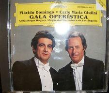 Deutsche Grammophon Placido Domingo Carlo Maria Giulini Gala Operistica