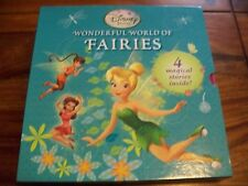 DISNEY WONDERFUL WORLD OF FAIRIES - 4 HARDBOOKS IN A PICTORIAL SLIPCASE *VGC*