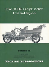 George A. Oliver: THE 1905 3-CYLINDER ROLLS-ROYCE. Profile Publications No. 49.