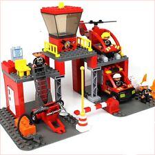 *** 60 Piece Fire Station blocks - Lego Duplo Compatible ***