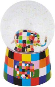 Trousselier S98064 - Schneekugel mit Musik Motiv Elmer©