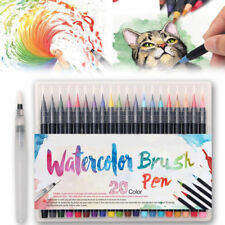 20 Colors Watercolor Drawing Painting Brush Artist Sketch Manga Marker Pen Set