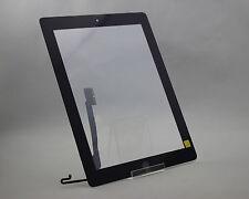 iPad 4 LCD Display Ersatz Glas Scheibe in Schwarz Touchscreen A1458 A1459 A1460