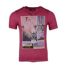 New Men's Tokyo Laundry Designer Crew Neck Top Short Sleeve T-shirt