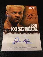 Josh Kocheck UFC 2010 Autographs #FA-JK