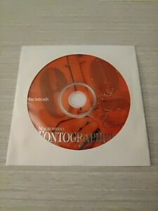 Macintosh Macromedia Fontographer 4.1 Software