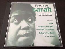 """Forever Sarah"" Sarah Vaughan (CD, 1999, Mercury) Misty, Autumn In New York *VGC"