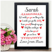 PERSONALISED Birthday Gifts for Daughter Girls Granddaughter Her Niece She