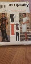 SIMPLICITY 7178 MISSES/MISS PETITE DRESS TOP PANTS Sz 4-6-8 Asian Style
