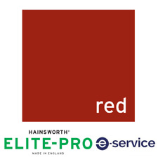 Hainsworth Pool Cloth - 7'x4' - Elite-Pro (Speed) - Red - Bed & Cushion