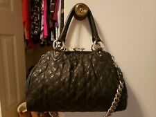 Marc Jacobs Stam Bag Black with SILVER Hardware! Rare Find!