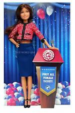 Barbie 2016 President & Vice President First All Female Ticket Doll Skirt