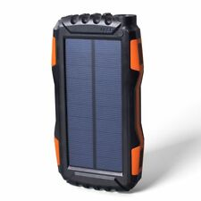 Easyacc Miaow Outdoor Solar Portable Power Bank Waterproof 20000mAh LED Light
