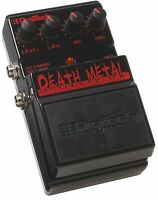 DigiTech DDM death metal distortion pedal guitar effects