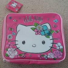 BNWT New Tags Hello Kitty Lunchbag Pink Lunchbox