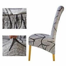 Large Size Newest Arrival Decoration Europe Style King Chairs Covers High Back
