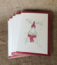 Hare Christmas Cards Pack of 5