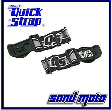 New Black Roko Goggle Quick Straps Release Helmet Dirt Bike ATV MX Smith Scott +
