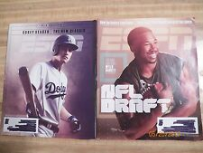 ESPN Magazines LA Dodgers Corey Seager MLB Preview NFL Draft Issue 2017 football