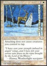 Korean Serra's Blessing ~ Near Mint Weatherlight Foreign UltimateMTG Magic White