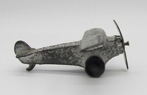 Vtg Kansas Toy & Novelty Co. Slush Cast Propeller Single Prop Airplane Plane