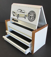Snap-On MUSTANG 30th ANNIVERSARY MINIATURE TOOLBOX White Gold Mini Collectible