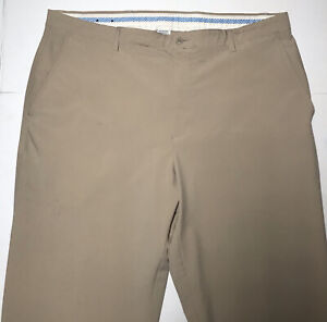 Footjoy Men's Beige Wicking Straight Leg Golf Dress Pants Sz 42X30