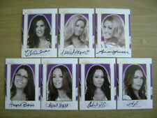 Lot of 39 2018 Benchwarmer Hot For Teacher Yearbook AUTO CARDS GOLD PLAYMATES