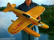 "Model Airplane Plans (UC): Sure Fun 36"" Sport Floatplane for .35 Engine"