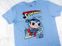 FUNKO DC Legion of Collectors  Superman  T-shirt DC box exclusive   new mip-