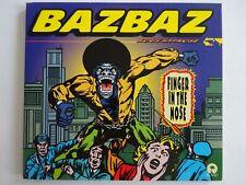 CAMILLE BAZBAZ : FINGER IN THE NOSE - RARE MAXI-CD ♦ LES PREMIERS REMIXES ♦