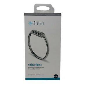 Fitbit Flex 2 Metal Accessory Bangle Silver Small S/P New in Package